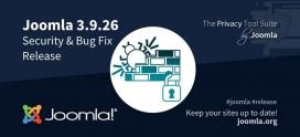 Joomla 3.9.26 soluciona algunas vulnerabilidades